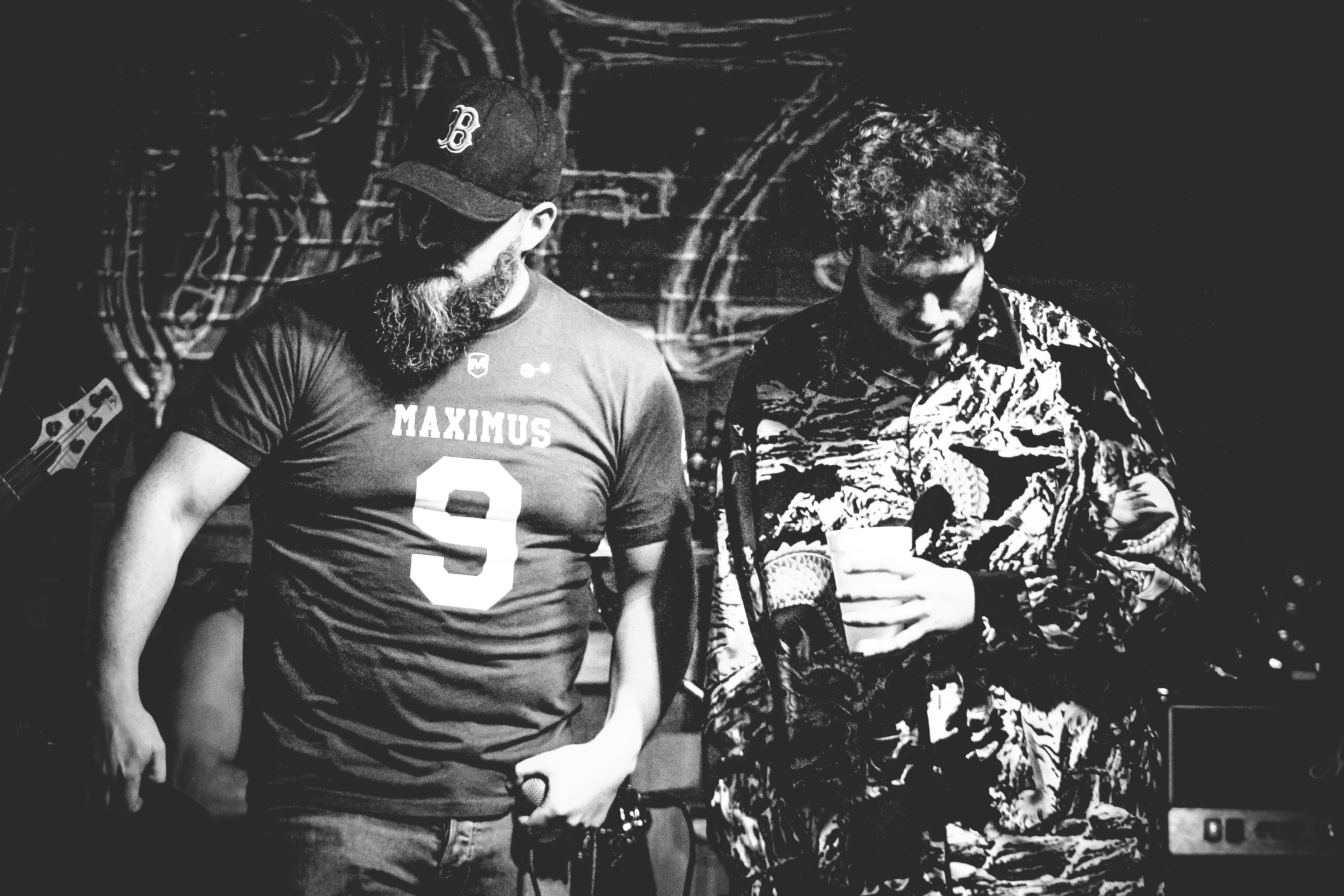 To særegne hip-hop menn